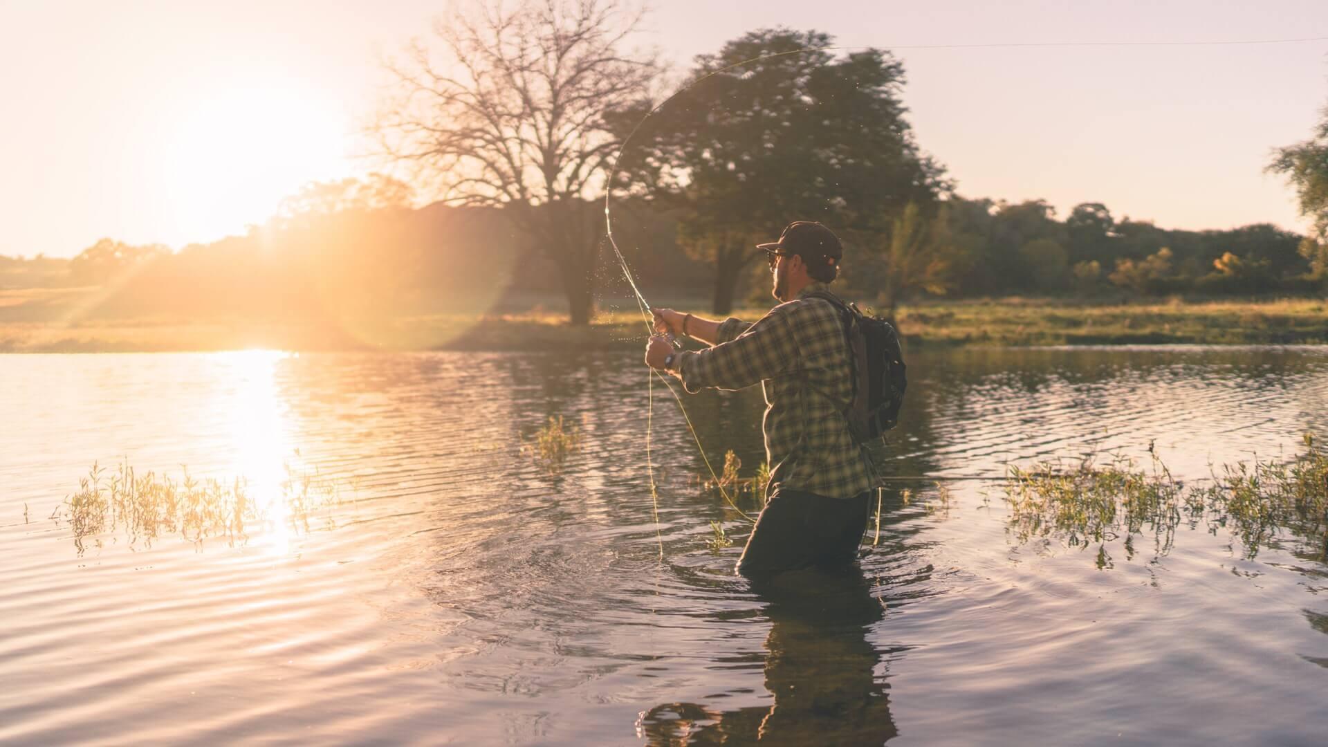 Wobbler til fisking